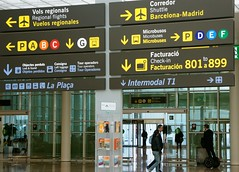 Barcelona Airport, the shuttle bus information