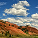 RGB Color Wheel - Red Hills by Jeff Clow