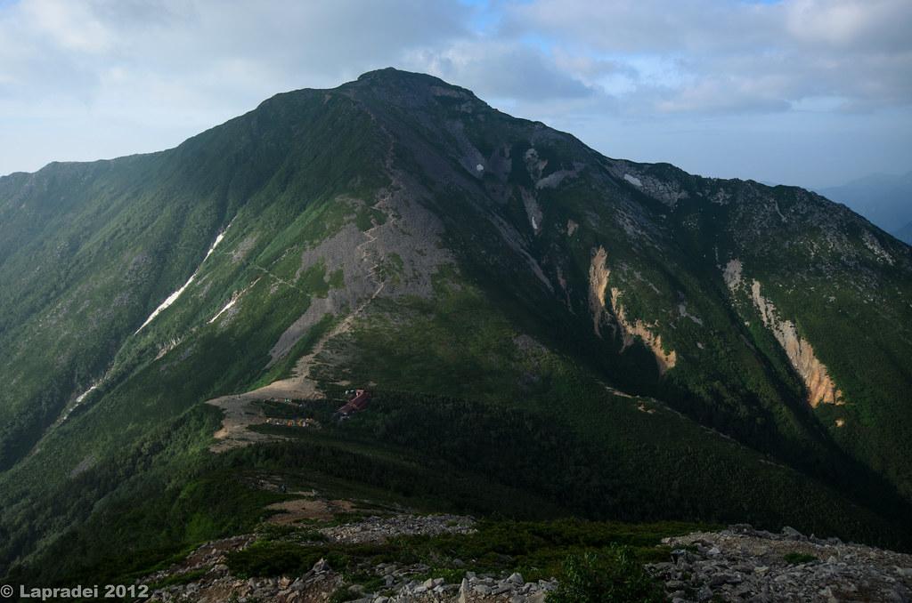 20120729 常念岳と常念小屋