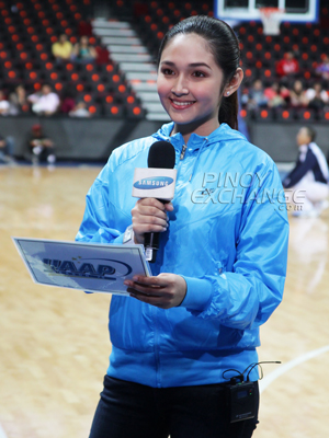 Pexers Choice Uaap Courtside Reporters The Uaap Games