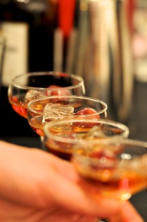 "Spenny Crosby (Anejo & Liquid Dynamix) ""Smoked Manhatten"" at the Made With Love competition"