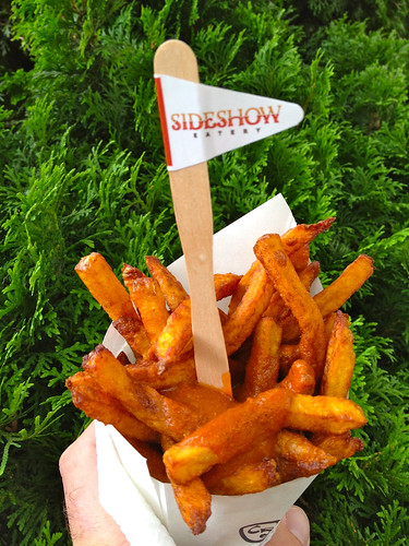 Pommes Frites from Sideshow Eatery