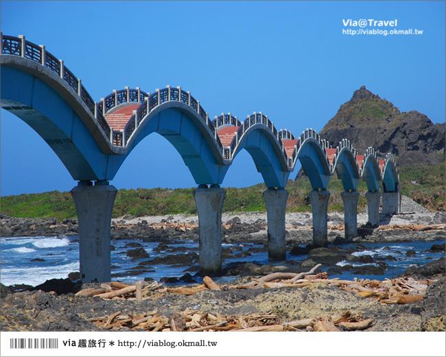 【台東必去景點】台東三仙台~我心目中台灣最美的一座橋啊!11