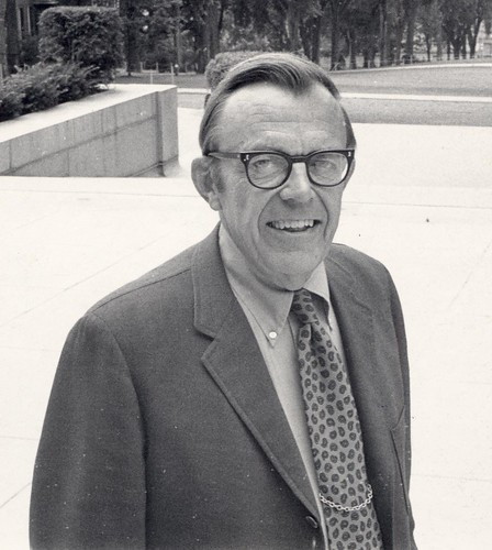 F. Chandler Young during tenure as Vice Chancellor for Student Affairs