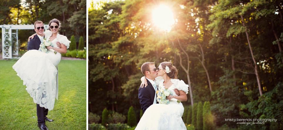 Sunglasses at Wedding