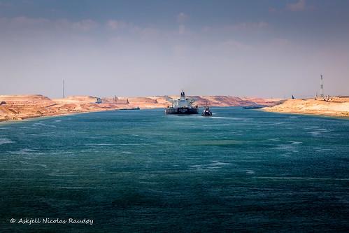 egypt maritime ships suez suezcanal vessel canal transit askjell