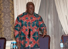President Mahama interacts with members of the Ghanaian community in Kenya