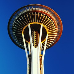 Space Needle #seattle #spaceneedle #notallwhowanderarelost #travelricans