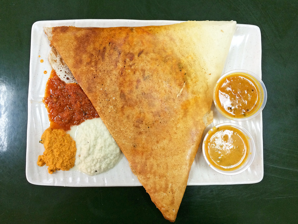 Mysore masala thosai