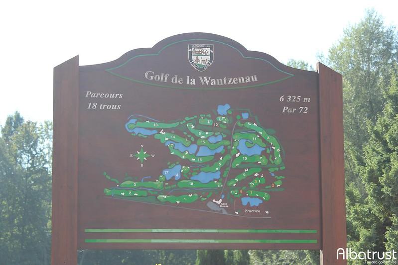 photo du golf Golf de la Wantzenau - Parking