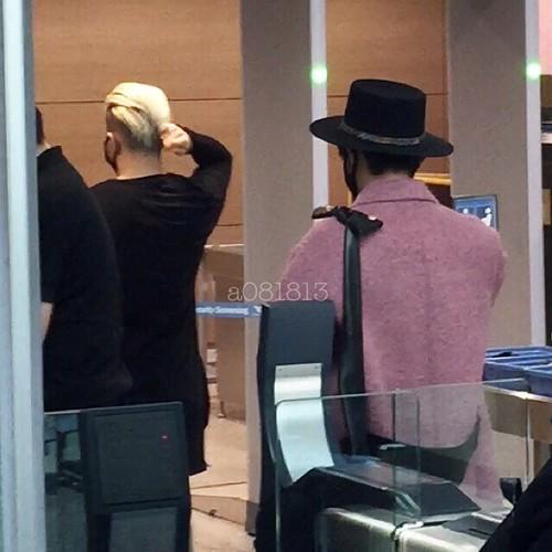 Big Bang - Incheon Airport - 21mar2015 - G-Dragon - a081813 - 05
