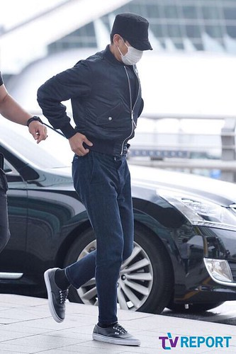 Big Bang - Incheon Airport - 26jun2015 - TV Report - 16