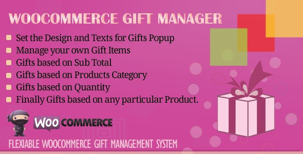 WooCommerce Gift Manager v2.1