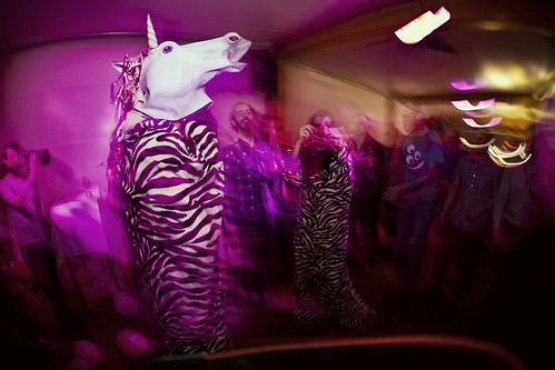 Unicorn at afterparty
