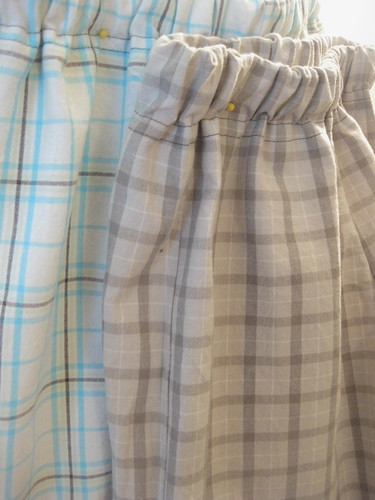 Butterick 3475 Plaid Cotton Shorts