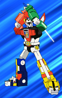 Voltron - Colorized