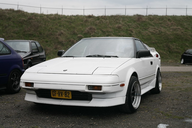 Toyota MR2 AW11 at JAF2012