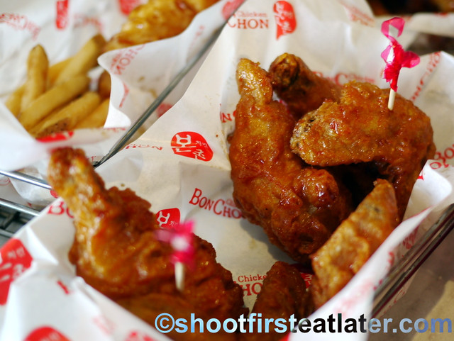 BonChon spicy wings