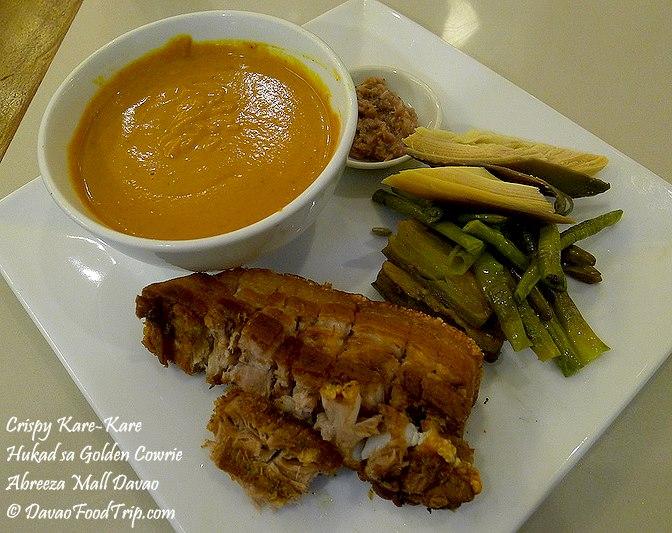 Crispy Kare Kare at Hukad sa Golden Cowrie Abreeza Mall Davao Food Trip.com