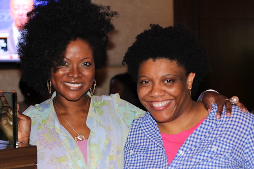 Abiola Abrams & Nichelle Stephens at the Black Enterprise Magazine Party