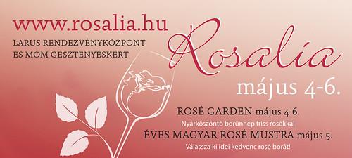 Rosalia-Rosé fesztivál május 4-6.