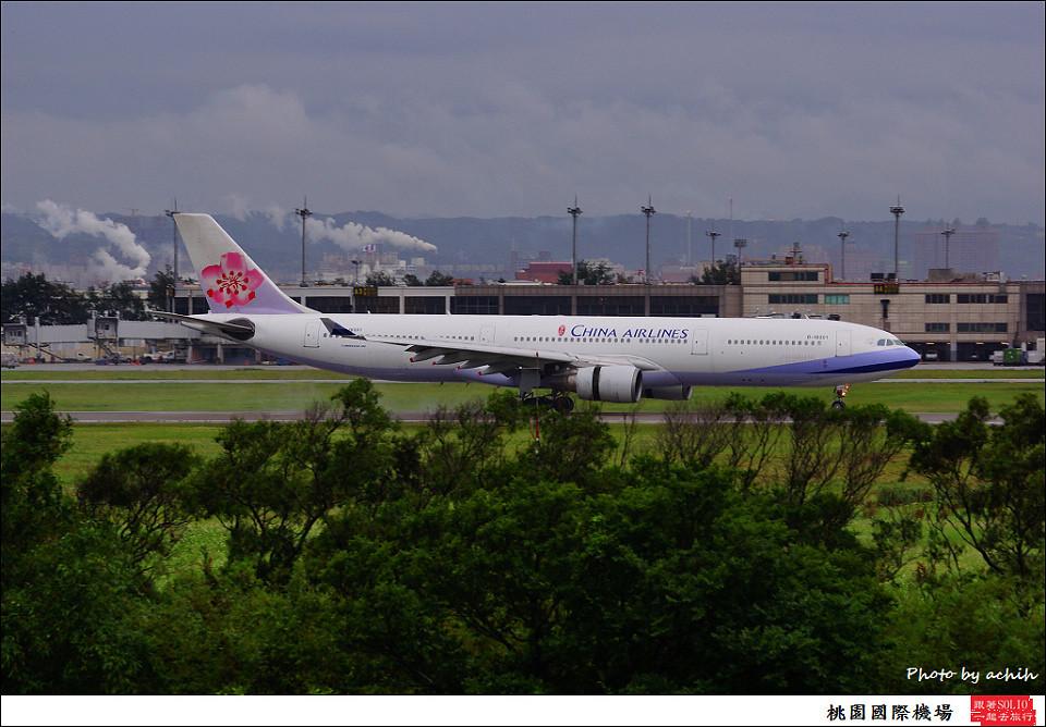中華航空B-18301客機016