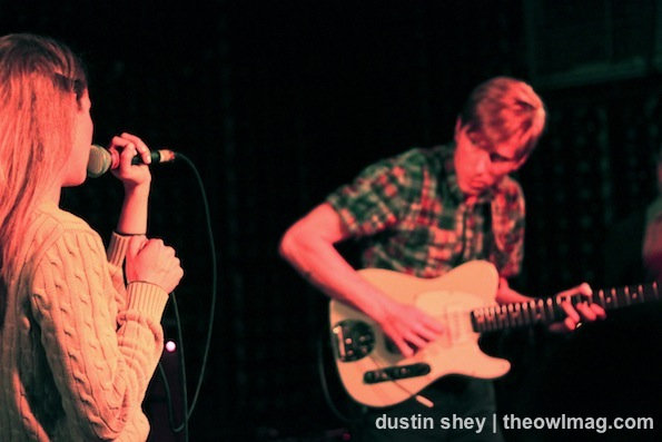 Tennis @ The Casbah, 5/4/12