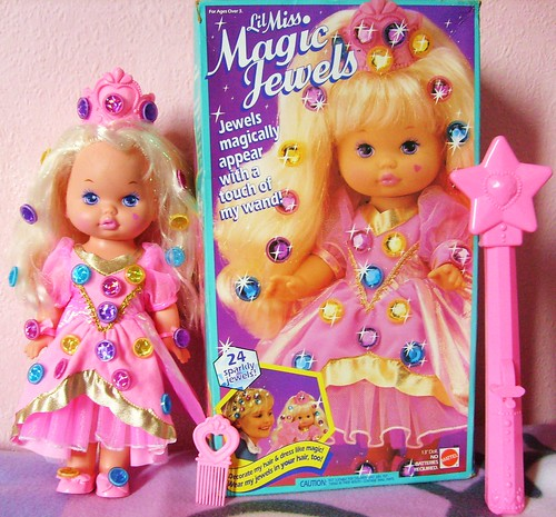 Mattel Li'l Miss Magic Jewels Doll
