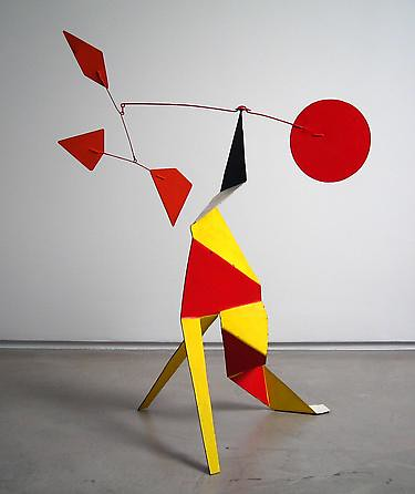 Alexander Calder: Crinkly with a Red Disk