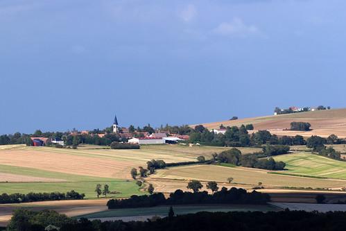 france landscape clearday yonne nièvre