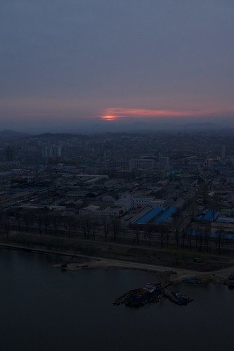 sunrise northkorea pyongyang dprk