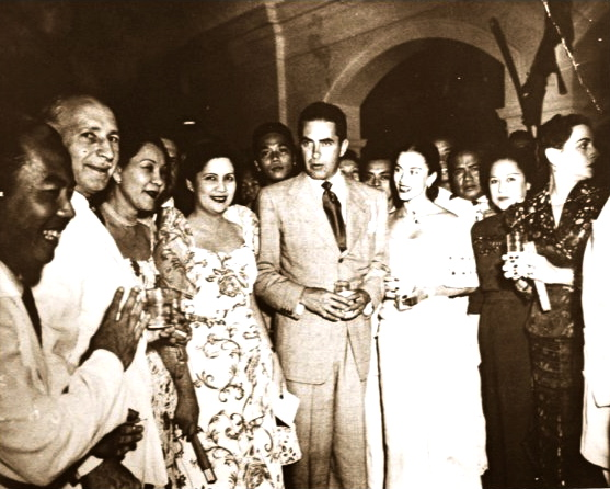 Tyrone Power at Manila Hotel