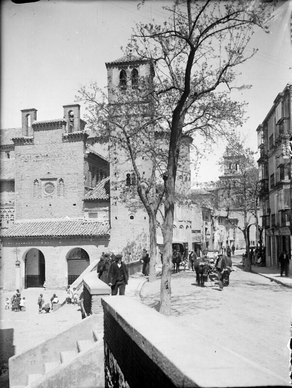 Santiago del Arrabal en los años 20. Fotografía de Otto Wünderlich. © Fototeca del Patrimonio Histórico