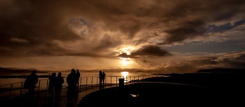 silhouette sunrise landscape iceland nikon þingvellirnationalpark d700