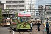 広島電鉄フラワーフェスティバル臨時列車を撮る