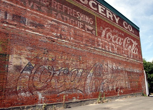 coca-cola palimpsest by Exquisitely Bored in Nacogdoches