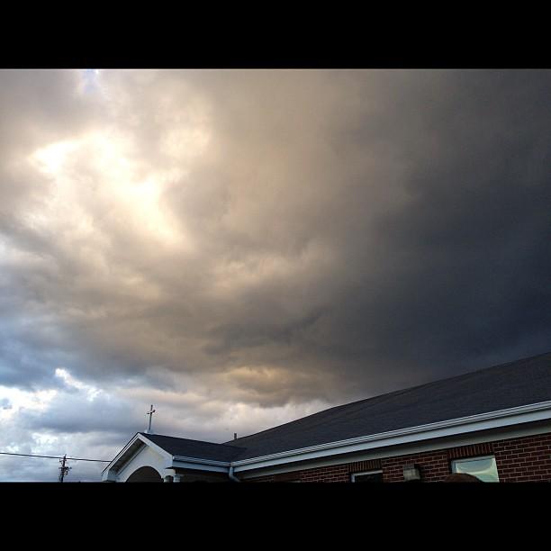 Whoa!! Crazy sky tonight!