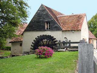 Le Moulin d'Angibault. Montipouret (Indre).