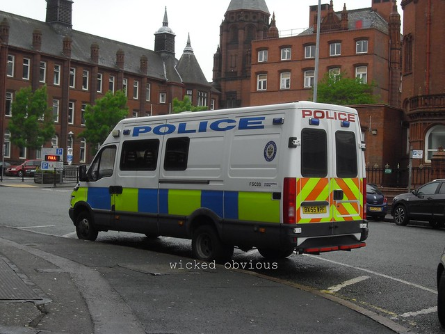 West Midlands Police Iveco Daily BX55 WPF (FSC33)