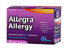 Allegra 70 Ct Product Coupon