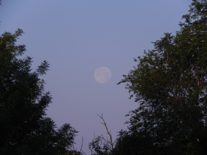 06-05-2012_Full Strawberry Moon setting