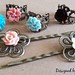 DIY Vintage Style Filigree Rings and Hair Pins