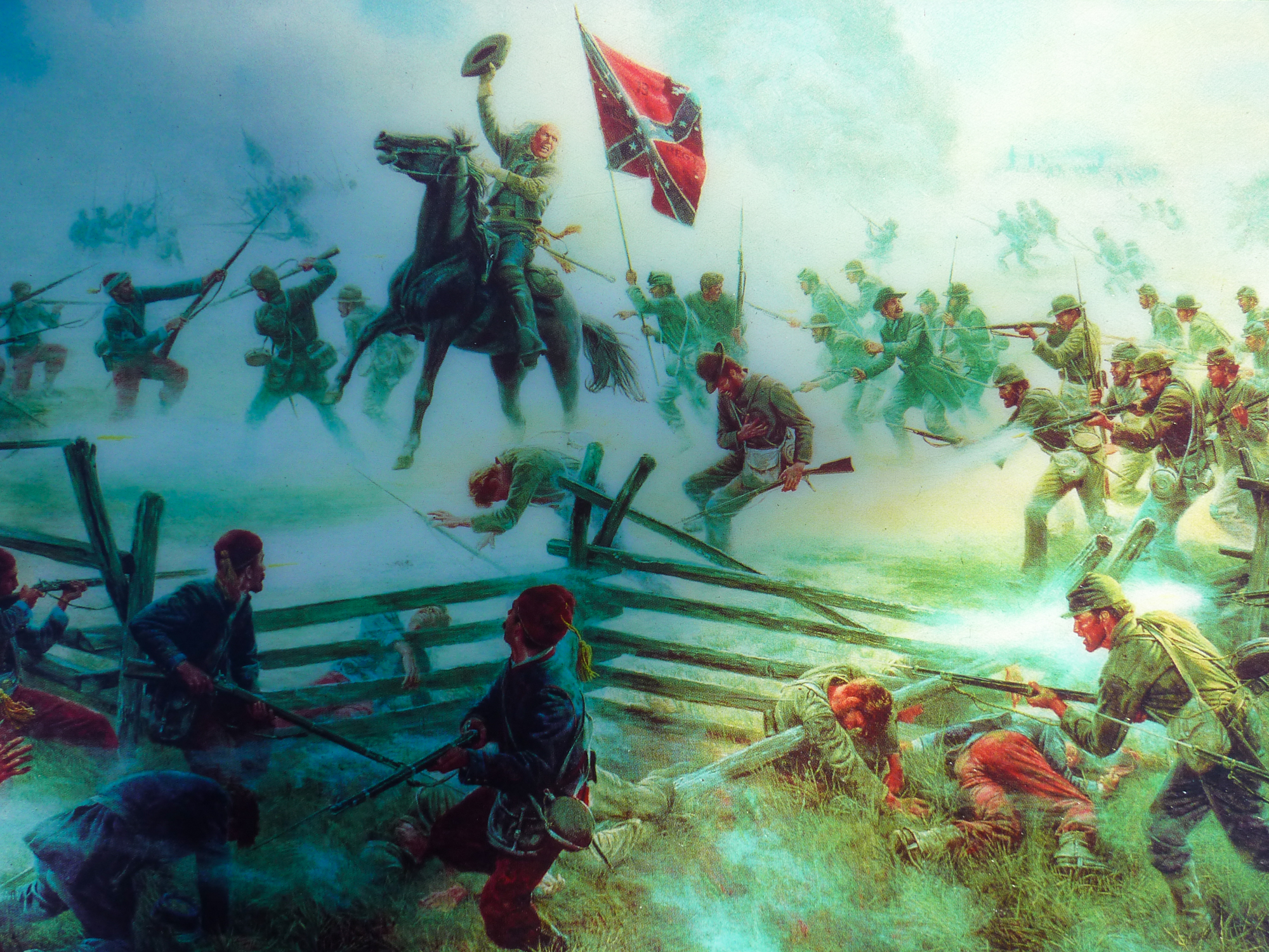 Climax of Picketts Charge