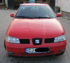 automobile, automotive exterior, family car, supermini, vehicle, seat ibiza, land vehicle,