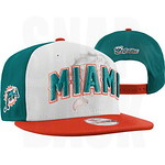 Miami Dolphins Snapback New Era Hat 9FIFTY 2012 Caps 2 Tone Draft