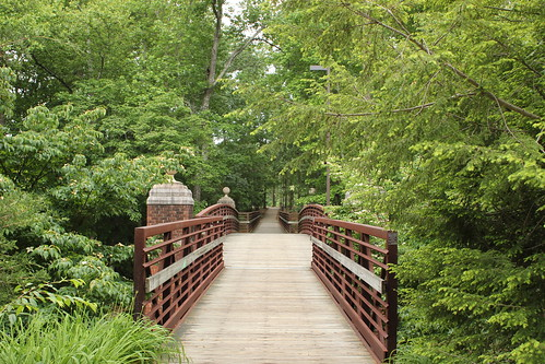 3:24 PM: Pedestrian bridge at Furman