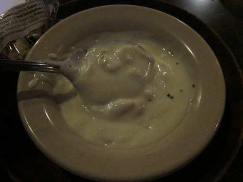 Bob Chinn's clam chowder