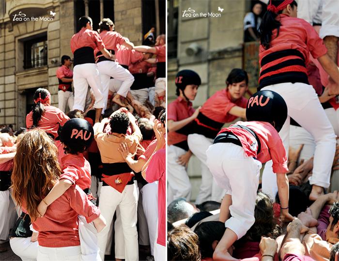 Castellers anxeneta pau