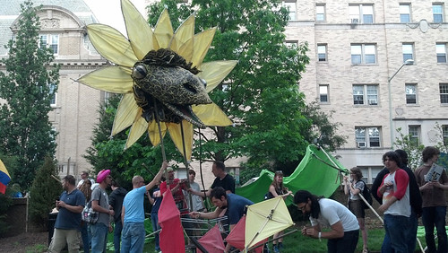 Occupy DC's May Day Rally, May 1, 2012