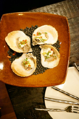 oysters at The girl and the goat, Chicago
